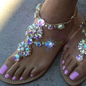Shoes - Crystal Bling Sandals